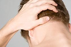 Сильная боль при шейном остеохондрозе