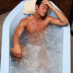 Применение радоновых ванн при остеохондрозе