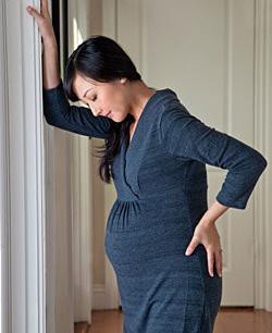 Советы при боли в спине во время беременности