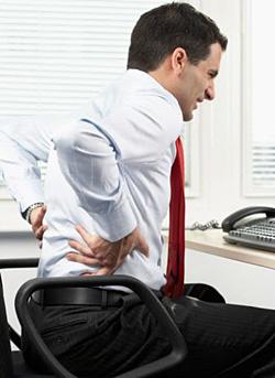 Советы при болях в спине на работе