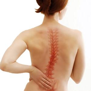 Боль в спине у современной женщины