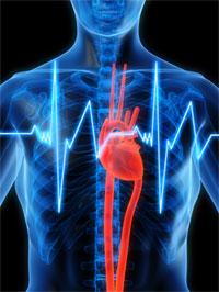 Сильные боли в области груди
