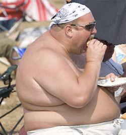 Одна из главных причин остеохондроза - избыточный вес