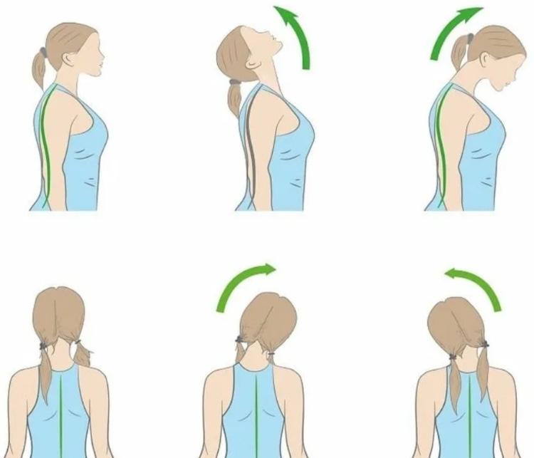 Лечебная гимнастика при остеохондрозе - простые упражнения для профилактики шейного отдела позвоночника.