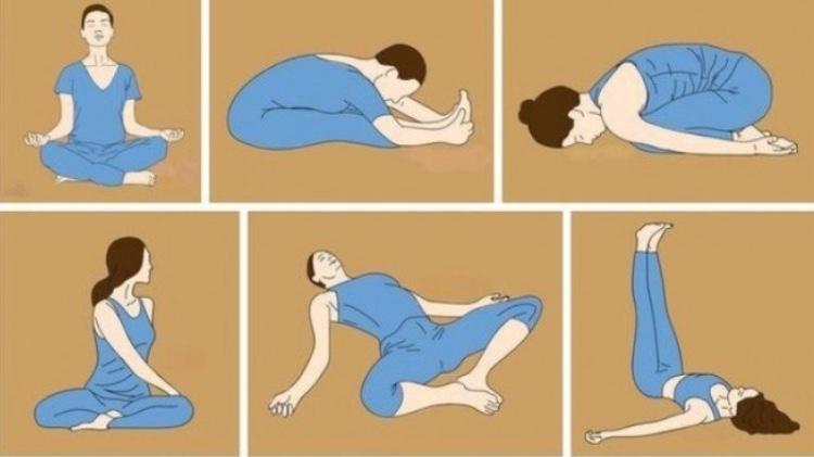 Упражнения для профилактики болей в спине.