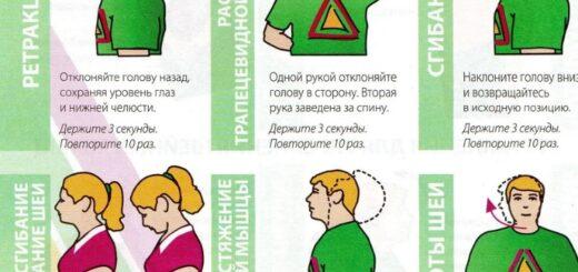Простые упражнения при шейном остеохондрозе