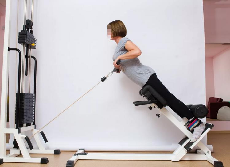 Тренировка на тренажерах при остеохондрозе.