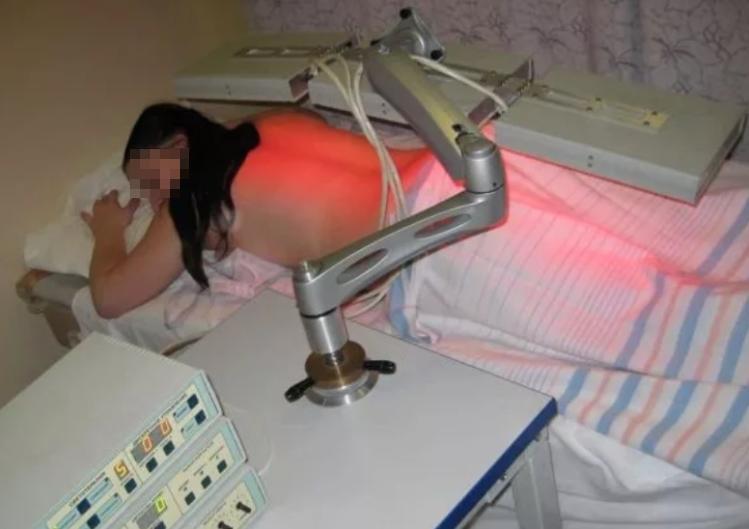 Лечение остеохондроза ультрафиолетом.
