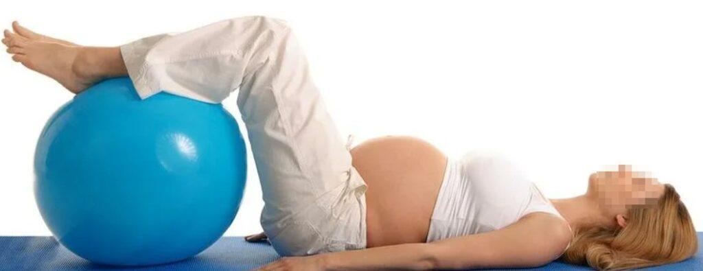 Очень болит спина при беременности.