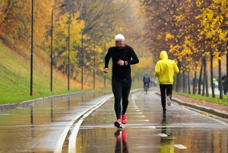Бег, подходящая форма оздоровительных занятий при заболевании позвоночника.