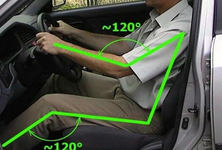Правильная и удобная посадка за рулем