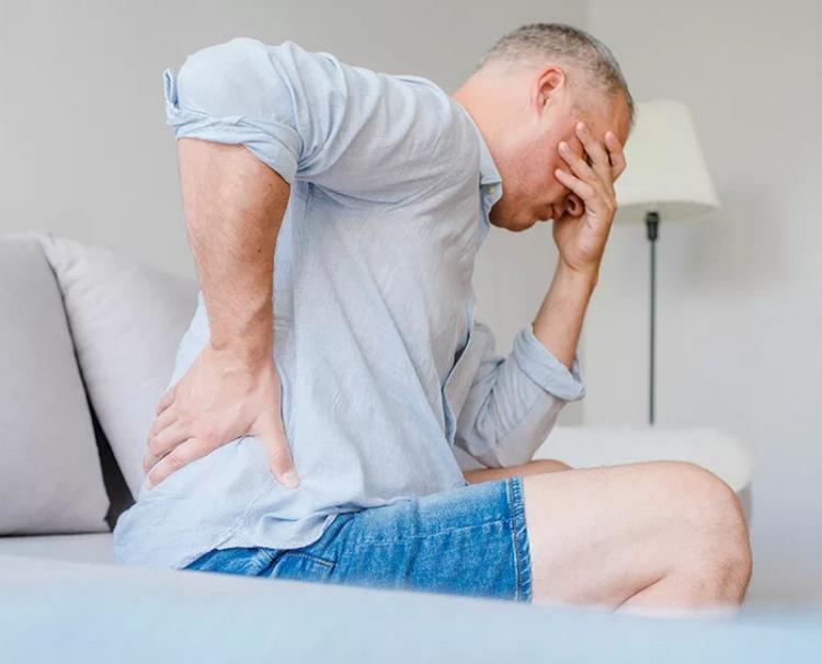 надрыв или отрыв задней продольной связки от тела позвонка