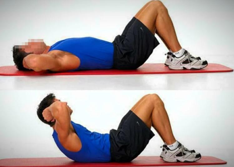 Упражнение для мышц брюшного пресса