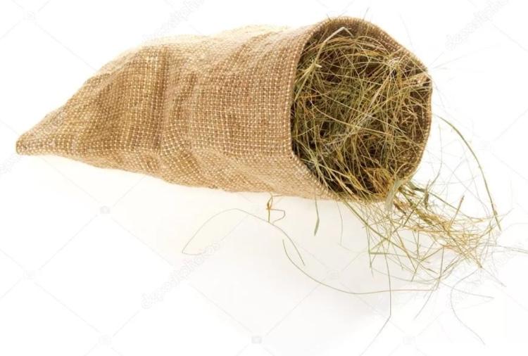 Мешочек с сеном для распаривания при остеохондрозе